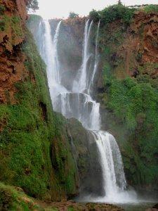 La grande cascade d'Ouzoud