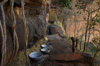 Les bassines de récupération des eaux de suintement