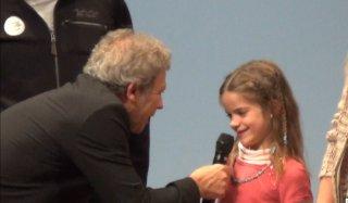 Jean-Michel Asselin recueille les impressions d'Adélie sur le Népal