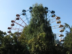 Le parc d'attraction de Panfilov