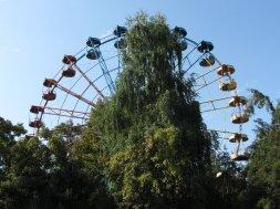Le parc d'attraction de Panfilov