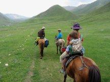 En route vers Kol Ukok