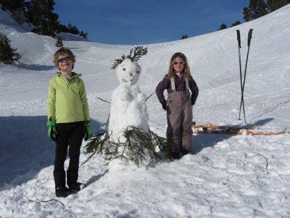 La bonhomette de neige