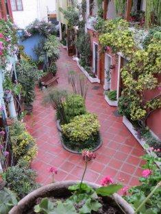 Cours interieure de l'Hostal El Patio