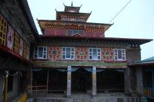 La cour intérieure du monastère