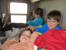 A l'intérieur, un vrai camping car