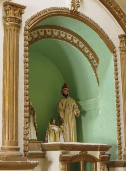 Jesus porte le bonnet péruvien