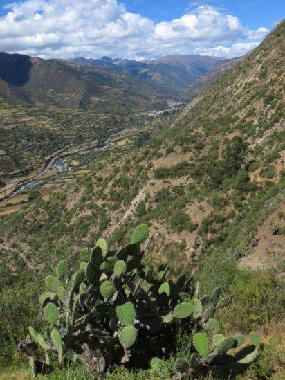 Vallée de l'Apurimac, vue depuis les thermes