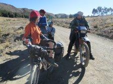 Rencontre de voyageurs à moto