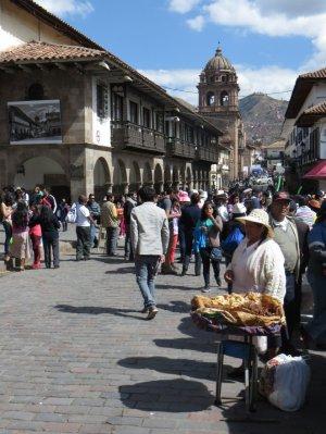 Plaza de Armas animée