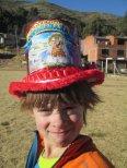 Chapeau de bénédiction trouvé au bord de la route