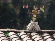 Décoration sur les toits