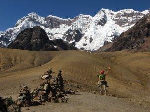 Col d'Arapa à 4710 m