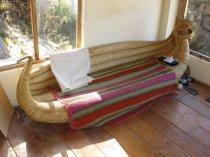 Canapé en totora