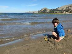 Pause près d'une plage, ENFIN !
