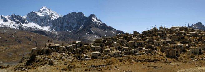 Cimetière minier : les conditions de travail dans les mines de Bolivie sont à l'haure actuelle toujours très rudes