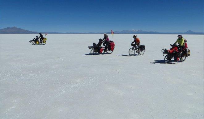 Dénivellée du jour 0 m. Distance parcourue : 76 km