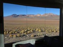 Vue depuis l'hôtel El Desierto