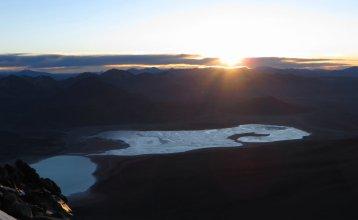 Lagunas Blanca et Verde