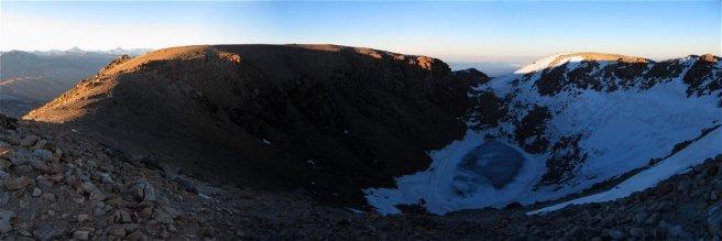 Cratère sommital