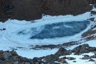 Lac du cratère (gelé)