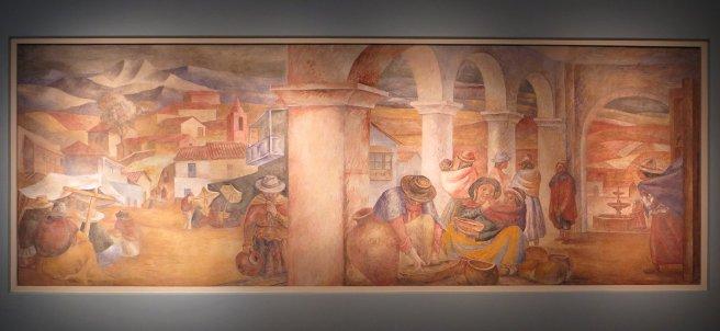 Fresque d'Antonio Berni
