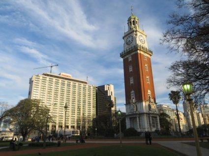 La tour des anglais et l'hôtel Sheraton