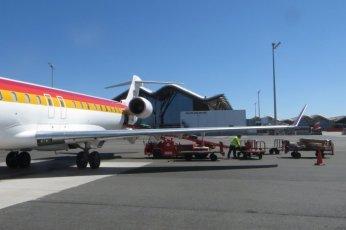 """... et les bagages ne rentrèrent pas dans l'avion """"Madrid-Lyon"""" (bis) ..."""