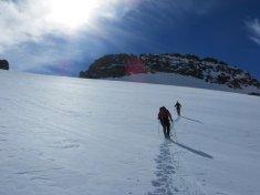 Sur le glacier Ferrand (ou ce qu'il en reste...)