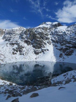 Pointe Niblé 3345 m (à g.) et pointe Ferrand 3365 m (à d.)