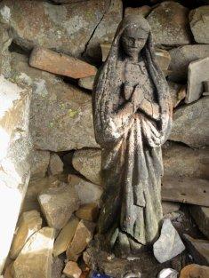 La Vierge du sommet de l'Estrop