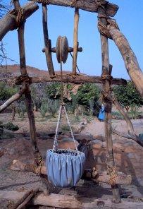 La tekarkart, système de puisage à deux poulies