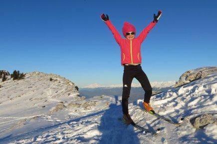 Devant le Mont-Blanc