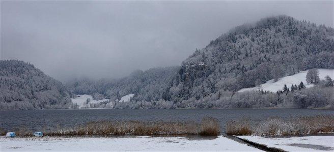 Lac Brenet au Pont (Suisse)