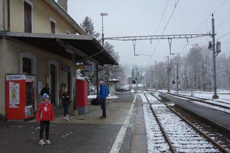 Le Pont (gare)