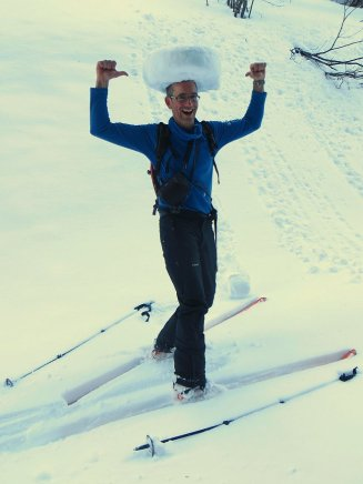 Une meule de Beaufort cachée dans la neige ?!!