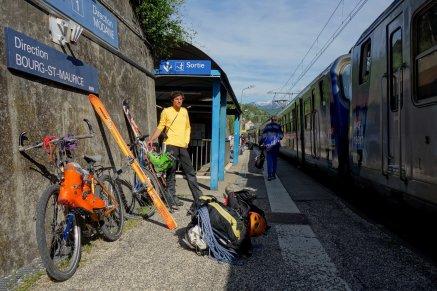 Correspondance en gare de Montmélian
