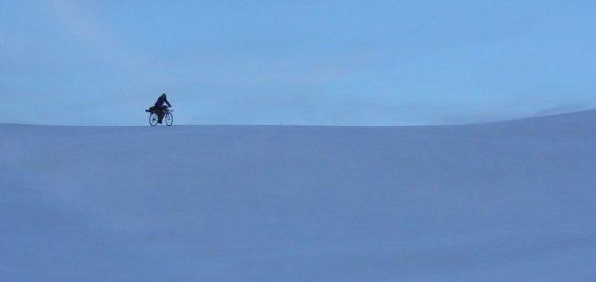 Vinchy en vélo-ski dans le Grand Blanc...