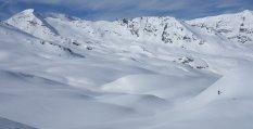 Vinchy dans l'immensité neigeuse
