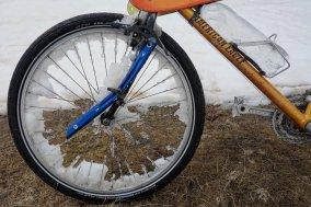 Bikepacking avec le piolet