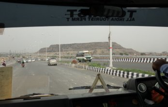 Banlieue de Delhi