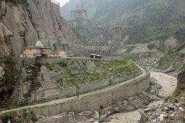 Centrale hydroélectrique enterrée