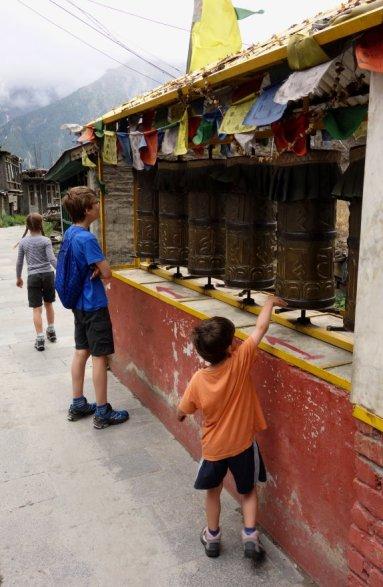 Moulins à prières de Kalpa