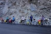 Caravane de cyclos avant Pooh !