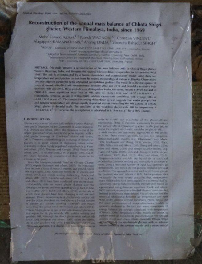 Publication de Wagnon