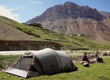 Site de camping de Sking