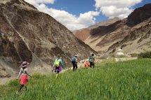 Khang Sar, en route vers Phuktal