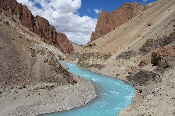Les eaux turquoise de la Phuktal Chu
