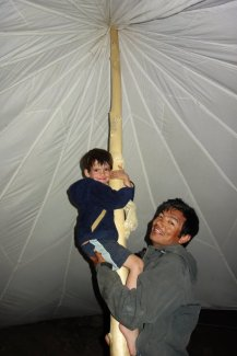 Tente parachute d'ichar