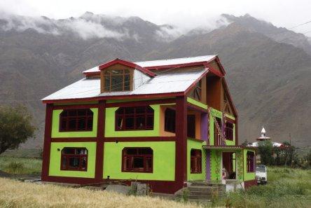Architecture locale et colorée